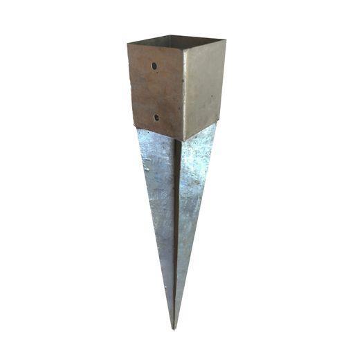 Ancre à enfoncer Solid gris 120 x 120 mm