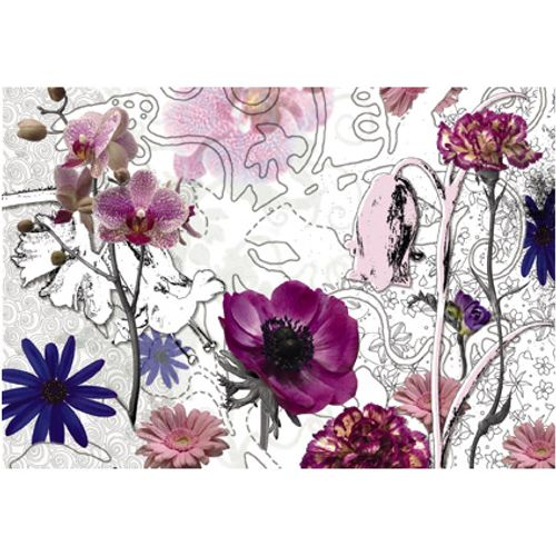 Fotobehang Purple