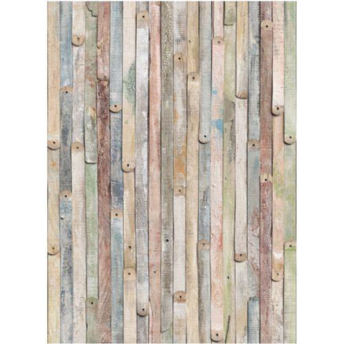 Fotobehang Vintage wood vlies
