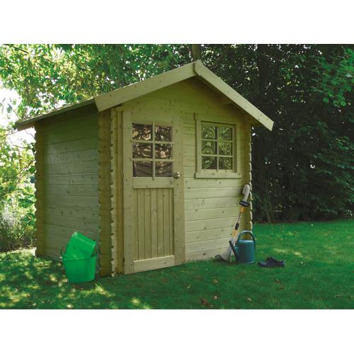 Solid tuinhuis 'Saran' geïmpregneerd hout 4,79 m²