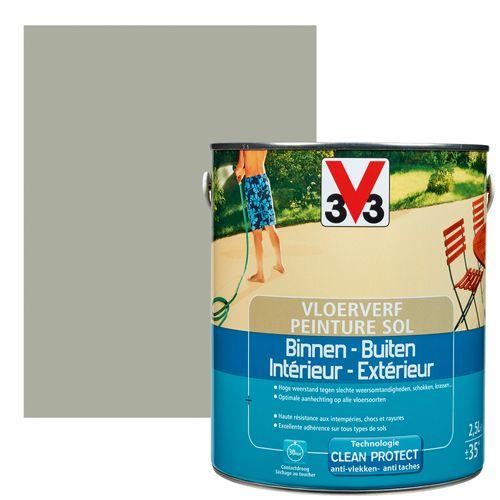 Peinture sol V33 intérieur/extérieur carbone satiné 2,5L