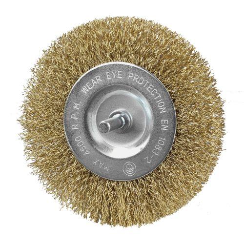Eurom onkruidborstel metaal voor Weedcleaner