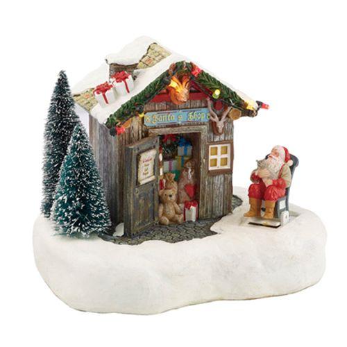 Luville beeldje Kerstman winkel