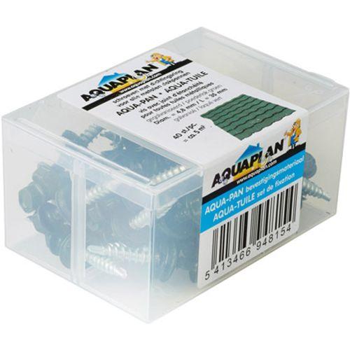 Aqua-pan schroef 40 st groen