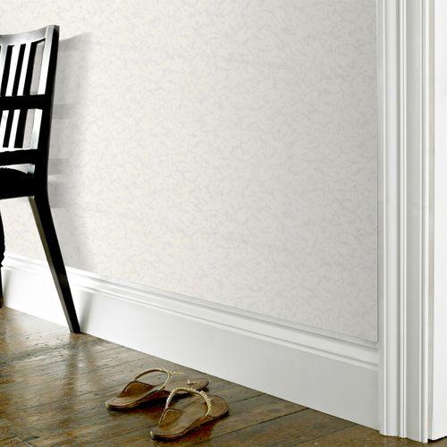 Sencys overschilderbaar vinylbehang 10+3M Gratis wit