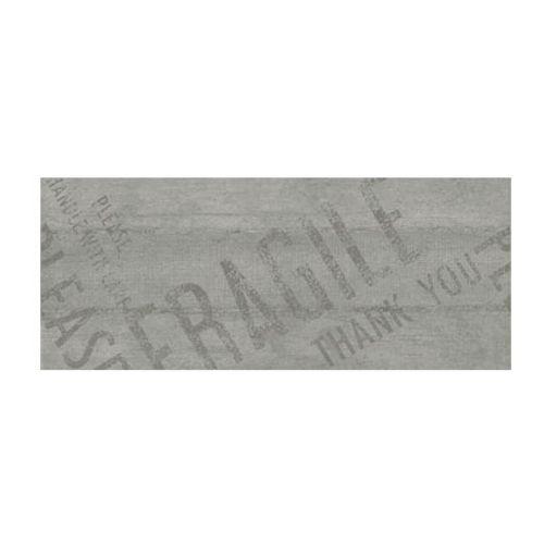 Carrelage mural 'Pacific-décor' gris 20 x 50 cm