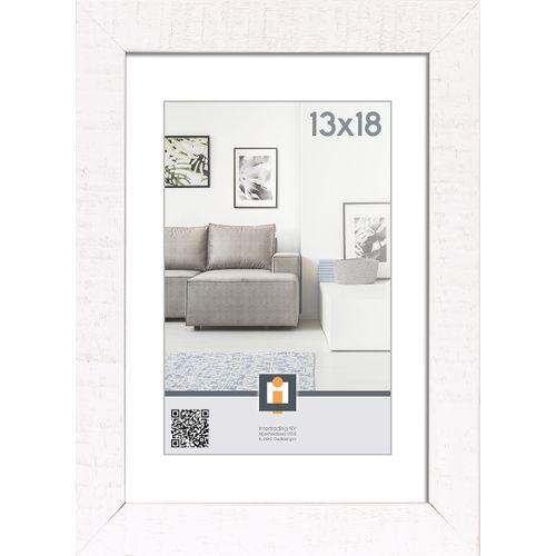 Intertrading fotolijst 'Sydney' hout wit 13 x 18 cm