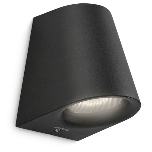 Philips wandverlichting LED Virga zwart 3W