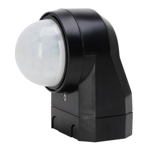 Kopp INFRAcontrol R 240° infrarood bewegingsschakelaar 3-draads zwart