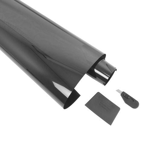 Carpoint ruitenfolie lichtgrijs 300x50cm