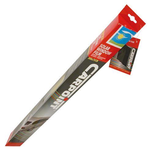 Carpoint ruitenfolie zwart ABG 300x75cm