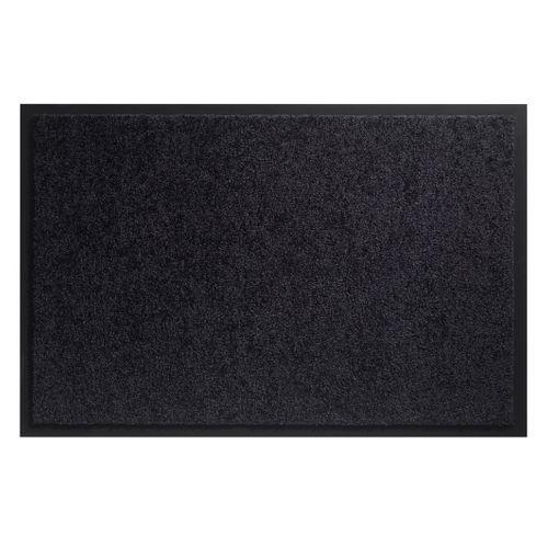 Deurmat Twister zwart 80x120cm