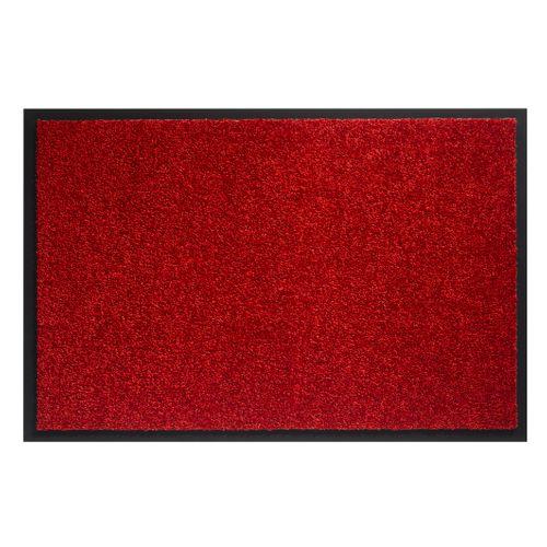 Deurmat Twister rood 150cm