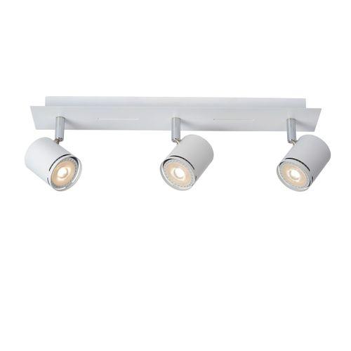 Spot LED Lucide Rilou blanc 3x5W