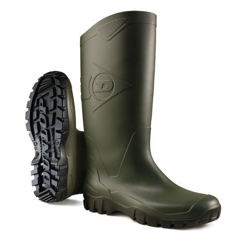 Bottes de sécurité AB Dunlop Dane vert taille 40 uni