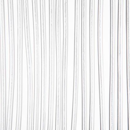 Rideau-portière 2MIF Malta 93x230cm blanc