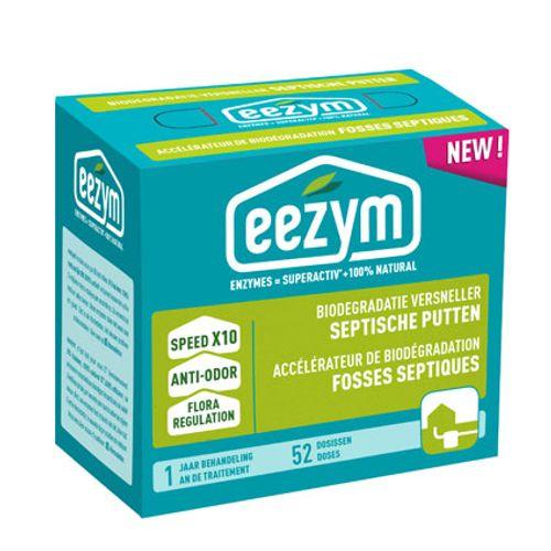 Accélérateur de biodégradation pour fosses septiques Eezym 1 an