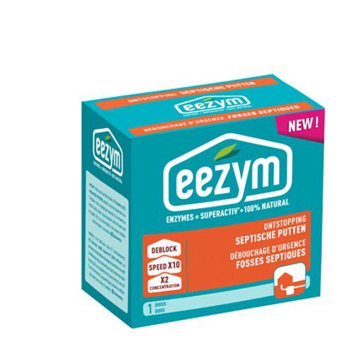 Déboucheur d'urgence pour fosses septiques Eezym