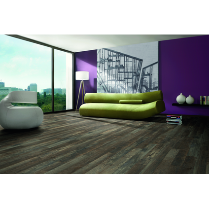 Sol stratifié Decomode Medium Paris Robin Wood 8 mm 1,39 m²