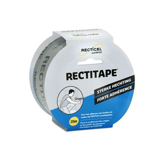 Recticel tape 'Rectitape' 0,05 x 25 m