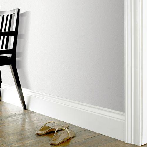 Papier peint intissé à peindre Sencys blanc 10m +3m gratuits