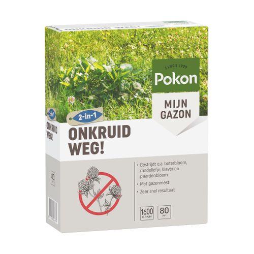 Pokon 2-in-1 Onkruid Weg 1600gr