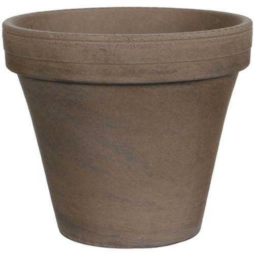 Pot Basalt 'Stan' gris 24 cm