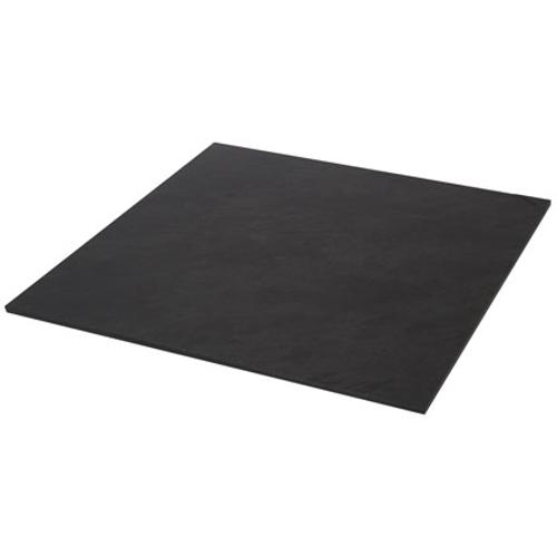 Tegel in leisteen zwart 40 x 40 x 1 cm