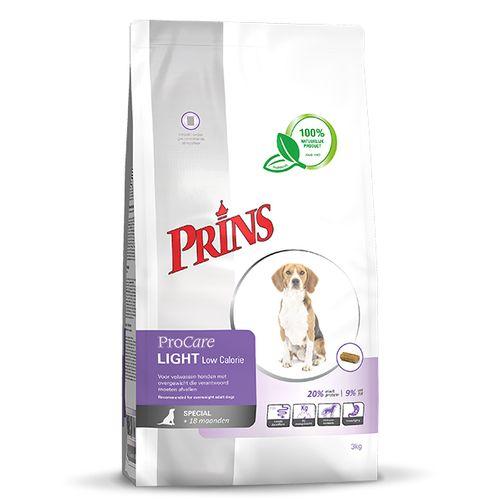 Prins ProCare hond light low calorie 3 kg