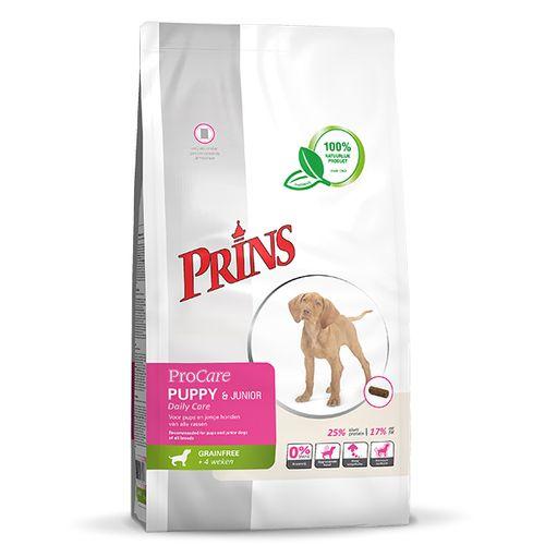 Prins ProCare grainfree hond pup/junior daily care 3 kg