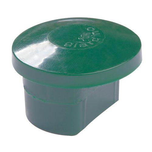 Giardino dop voor profielpaal groen Ø 48 mm