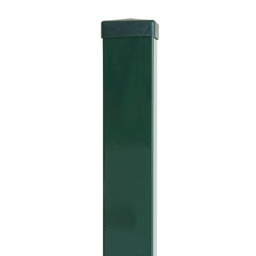 Giardino dop voor vierkante paal groen 6x6cm