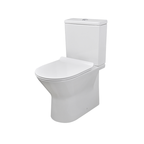 Pack wc Aquazuro 'Livenza' rimless 3 / 6 L