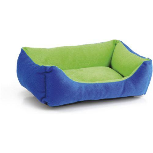 Pet products pluche ligbed voor knaagdieren groen blauw