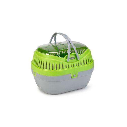 Beeztees plastic reismand travica groen grijs 27x 20cm