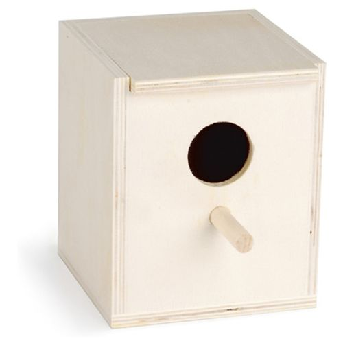 Pet products houten broedkastje met gat