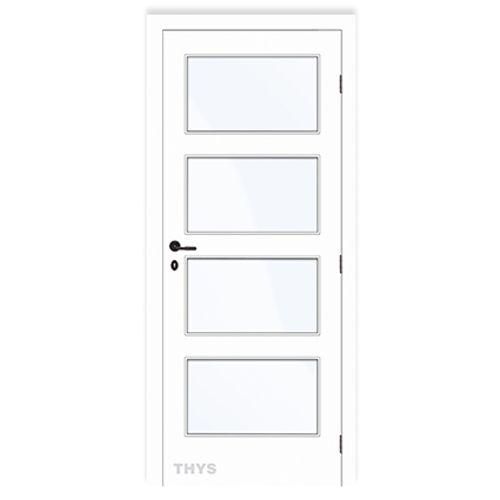 Thys deurgeheel 'Concept 10 Design 4 panels' tubespaan schilderbaar 78cm