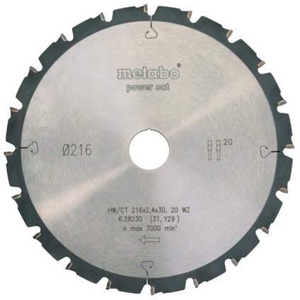 Scie à onglet radiale Metabo 'KGS216' 1500 W