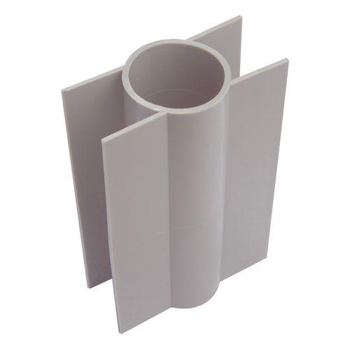 Support plaque béton Giardino Ø 48 mm/28 cm