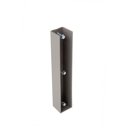 Support plaque béton Giardino Ø 48 mm/28 cm + 3 visses autovissant