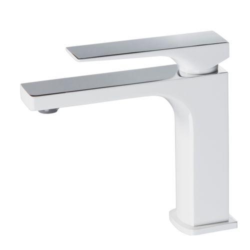 Mitigeur lavabo Essebagno Absolut blanc chromé