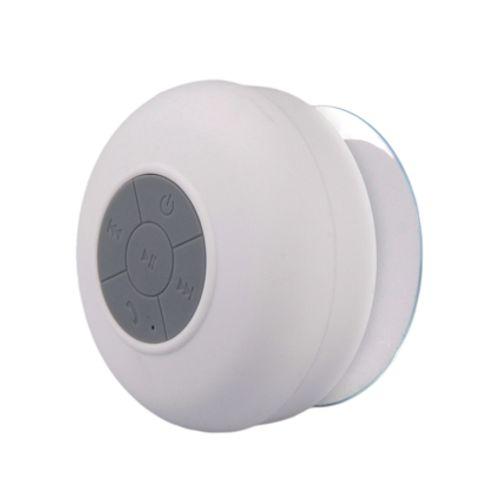 Haut parleur de douche Bluetooth blanc