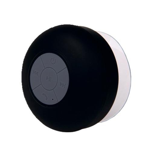 Luidspreker douche Bluetooth zwart