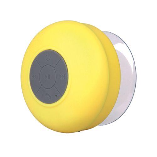 Haut parleur de douche Bluetooth jaune
