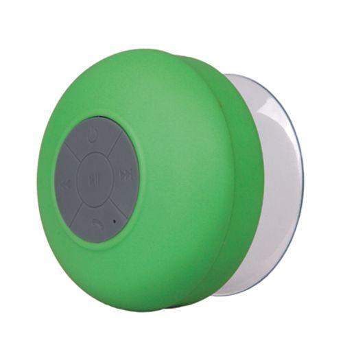Haut parleur de douche Bluetooth vert