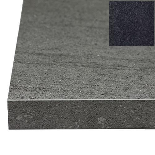 Sencys werkblad graniet zwart 305 x 60 x 2,8 cm
