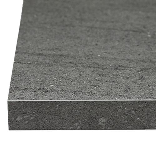 Plan de travail Sencys Volcano gris 305 x 65 x 3,8 cm