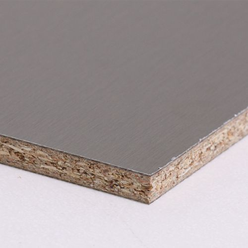 Sencys achterwand Luna beige/inox 305 x 60 x 0,8 cm