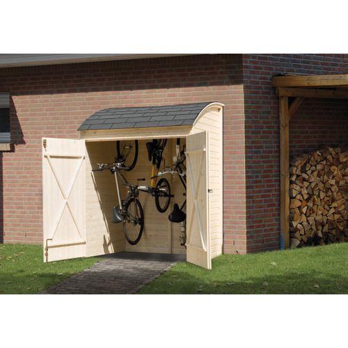 Weka tuinkast fietsberging 394 160x134cm