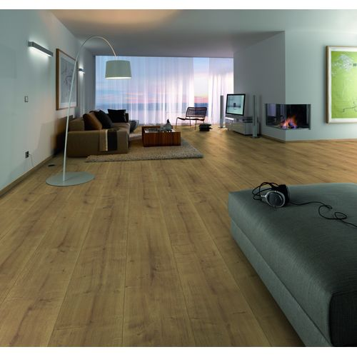 Parquet stratifié Decomode King Size Porto chêne 8 mm 2,53 m²